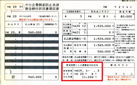 共済 倒産 別表 防止 銀行融資を受けるなら倒産防止共済掛金は費用にするな【別表四・五(一)・十(七)書き方付き】